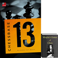 ChessBase 13 Mega Package with Morphy's Games of Chess