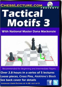 Chess Lecture: Tactical Motifs 3 DVD