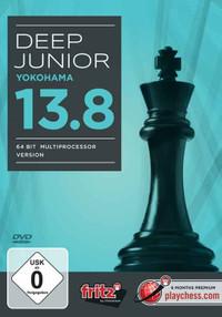 Deep Junior 13.8 åÐYokohama (64 Bit Multiprocessor Version) Chess Playing Software Program