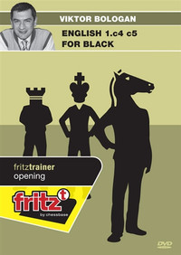 English 1.c4 c5 for Black Chess Opening Software DVD