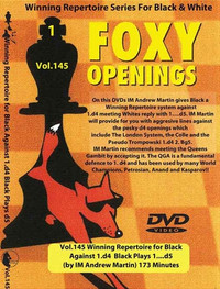 Foxy Chess Openings, 145: Winning Repertoire for Black with 1.d4 d5