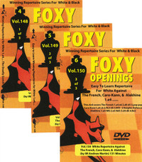 Foxy Chess Openings, 148-150 (Vol.1-3): Winning Repertoire Series for White - 1.e4