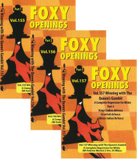 Foxy Chess Openings, 155-157: Winning with the Queens Gambit - A Repertoire for White