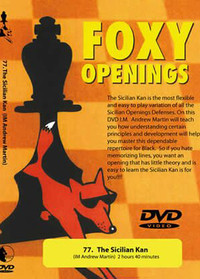Foxy Chess Openings,  77: Sicilian Kan DVD