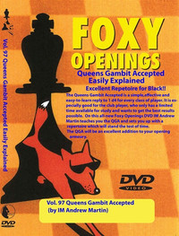 Foxy Chess Openings,  97: The Queen's Gambit Accepted for Black