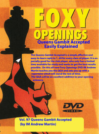 Foxy Chess Openings,  97: The Queen's Gambit Accepted for Black Chess Download