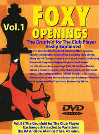 Foxy Chess Openings,  98: The Grunfeld I (Exchange and Fianchetto Variations) foxy-98-D