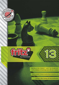 Fritz 13 & Bonus chess playing software
