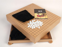 Complete Go Game with  Wooden Chest