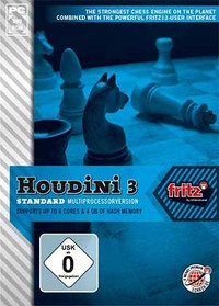 Houdini 3 Standard - ChessBase Interface Bonus:  Art of War