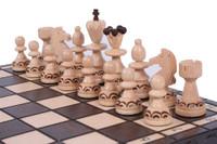 The Delbog - Unique Wood Chess Set, Board & Storage