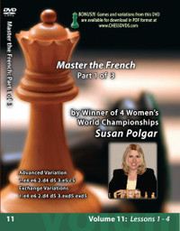 Susan Polgar, 11: Mastering the French Chess Opening Part 1 DVD