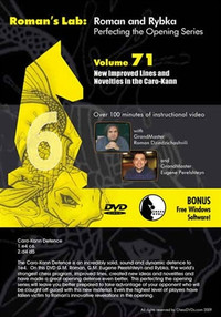 Roman's Labs: Vol. 71, Mastering Chess Series - New Improved Lines and Novelties in the Caro-Kann Download