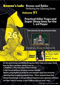 Roman's Chess Labs:  91, Practical Killer Traps and Super Sharp Lines for the 1.e4 Player Chess Download