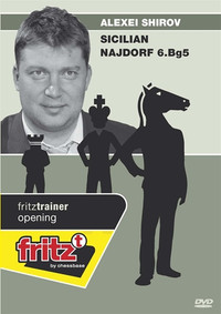 Alexei Shirov: Sicilian Najdorf with 6.Bg5 DVD