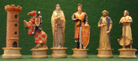 Crusaders and Saladin Chess Set