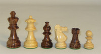 Anjou - Rosewood and Boxwood Chess Pieces