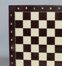 """Wood Grain Decoupage Chess Board 1.5"""""""