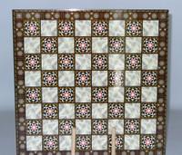 "Elegant Decoupage Chess Board 1.5"""