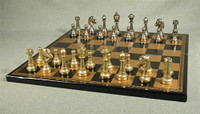 Treviso Refinement Chess Set - Chess Pieces and Matching Chess Board