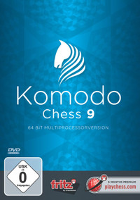 Komodo 9 UPGRADE Chess Playing Software Program