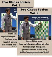 Pro Chess Mentor, Vol. 1 &  2 DVD