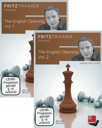 The English Opening, Vol. 1 and Vol 2- Chess Opening Software