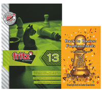 Fritz 13 Chess Playing Software & Back to Basics: Fundamentals in Chess Book