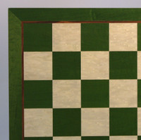 Green & White Chess Board - 19""