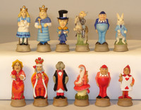 "Alice In Wonderland - Themed - Chess Pieces - 3.25"" King"