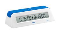DGT 1001 - Blue/White - Chess Game Clock & Timer