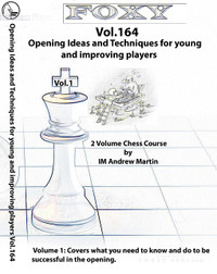 Foxy Chess Openings, Vol. 164: Opening Ideas and Techniques for Young and Improving PlayersChess DVD