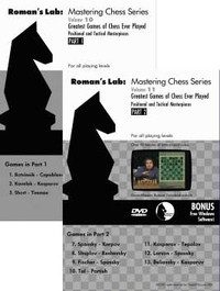 Chess Video Downloads 4 for $39.95