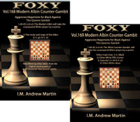 Foxy Chess Openings, Volume 168 & 169: The Modern Albin Counter-Gambit: Aggressive Repertoire for Black (Part 1 & 2) DVDs
