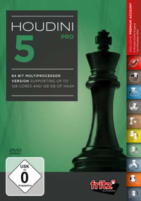 Houdini 5 PRO Chess Playing Software Program for Download