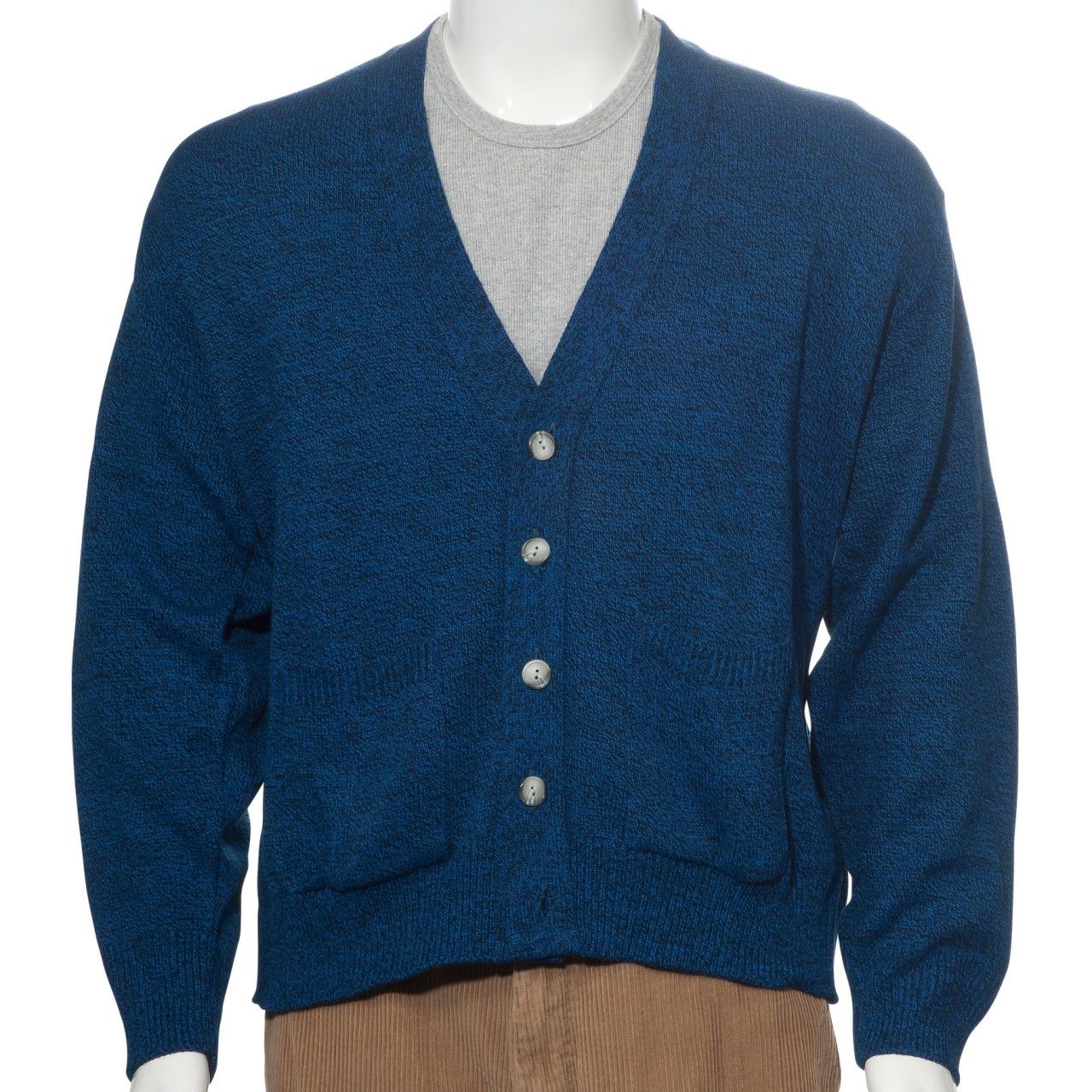 Men's Knit Cardigan Button Down Sweater