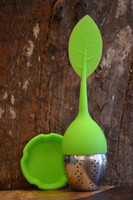 Silicone Infuser Ball - Green Leaf