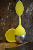 Silicone Infuser Ball - Yellow Leaf