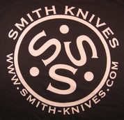 SK Gear - Smith Knives T-Shirt - White on Dark Green - SK9999-TSG