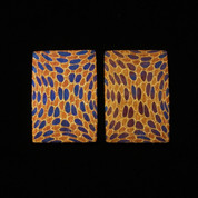 Chris Marks - Mosaic Damascus Bolsters - TriColor Wasp Nest - SK0001-CMD