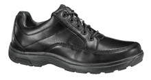 Dunham Model 8500BK. Black Leather Ruggard Walkers - Widths B to 6E - Up to Size 18!