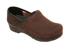 Sanita Professional Oiled in Brown Nubuck.  Narrow and Wide Widths!