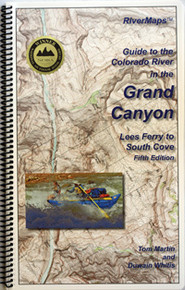 Grand Canyon, Colorado River Map, 6th Edition