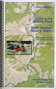 Middle Fork and Main Salmon Rivers Map, 2nd Edition