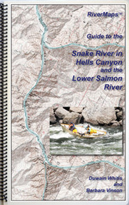 Hells Canyon Snake and Salmon Rivers Map