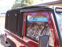 Custom Land Rover topper.