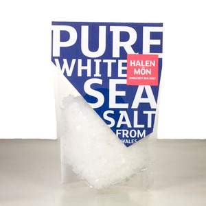 Halen Môn Anglesey Pure White Sea Salt from Wales