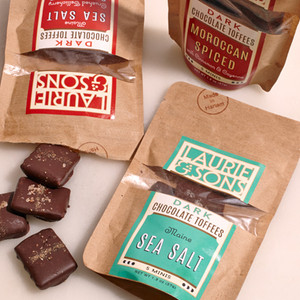 Laurie and Sons Dark Chocolate Toffees
