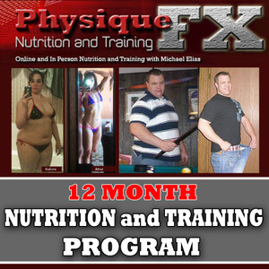 Two Person Special  12 Month In Person Nutrition and Training Program