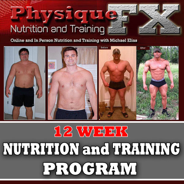 12 Week Online Nutrition and Training Program